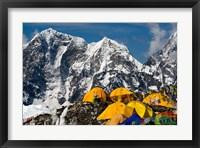 Framed Base Camp, Mt Everest, Nepal