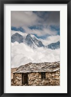 Framed Stone hut, Khumbu Valley, Nepal