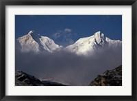 Framed Makalu From the Kangshung, Tibet