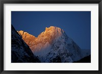 Framed Sunrise on Chomolonzo, Tibet