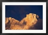 Framed Chomolonzo Summit at Sunrise, Tibet