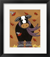 Framed Autumn Mooves In