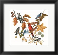 Framed Fall Birds