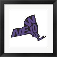 Framed New York Letters