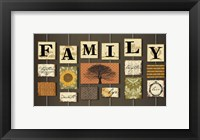 Framed Family on strings