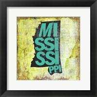 Framed Mississippi