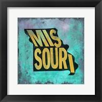 Framed Missouri