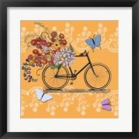 Framed Flower Market Bicycle