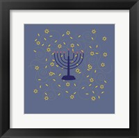 Framed Hanukkah 5