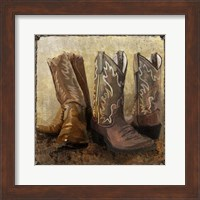 Framed Roped In Boots
