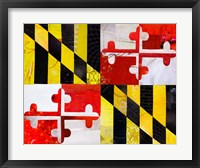 Framed Maryland