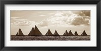 Framed Sailboats