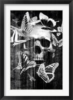 Framed Skull Butterfly Crown