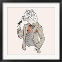 Framed Tiger-man