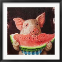 Framed Pig Out