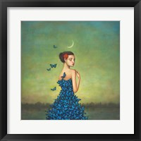 Framed Metamorphosis in Blue