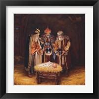 Framed Three Wisemen