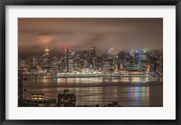 Framed Vancouver Night