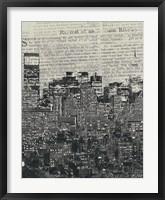 Framed New York News