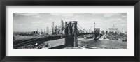 Framed Brooklyn Bridge, NYC, c.1938