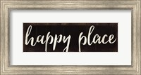 Framed Happy Place 2