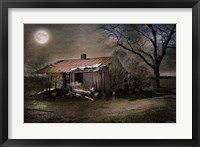 Framed Forgotten in Moonlight