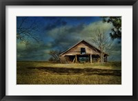 Framed Hwy 82 Barn