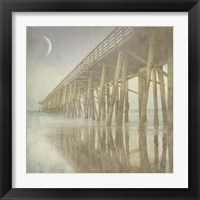 Framed Twilight Pier I