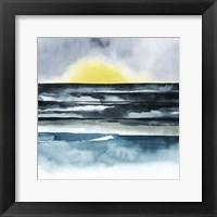 Seaside Mist II Framed Print
