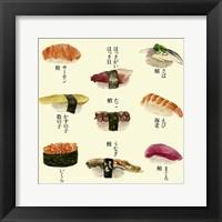 Framed Sushi I