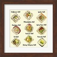 Framed Sushi II