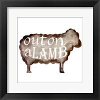 Punny Animal IV Framed Print