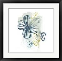 Framed Floral Offset II