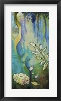 Pond Dripples II Framed Print