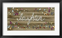 Framed Love & Laughter I