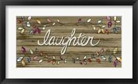 Love & Laughter I Framed Print