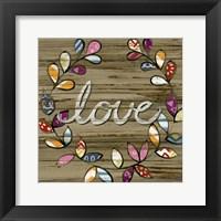 Love & Laughter III Framed Print