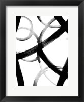 Framed Monochrome Ripple I