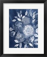 Framed Cyanotype Roses II