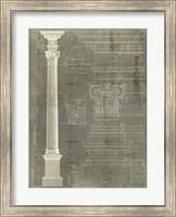 Framed Column Blueprint I