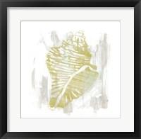 Seaside Blockprints III Framed Print