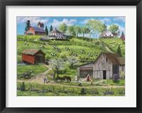 Framed Buttermilk Farm