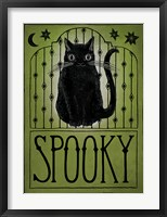 Framed Vintage Halloween Spooky