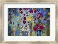 Framed Floral Explosion