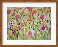 Framed Field of Blooms