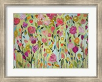 Framed Field of Blooms