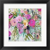 Framed Rose Burst