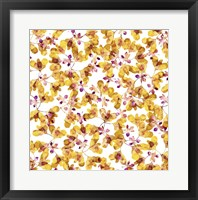 Framed Autumn Pattern