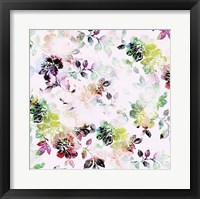 Framed Romantic Flowers