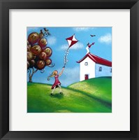 Framed Go Fly a Kite